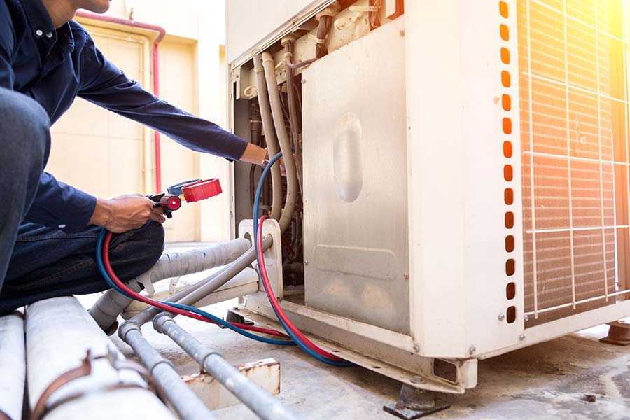 Commercial HVAC repair services Cypress Texas